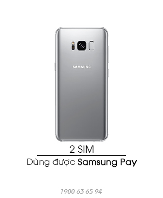 Samsung-Galaxy-S8-Plus-quoc-te-2sim-Arctic-Silver-asmart-da-nang