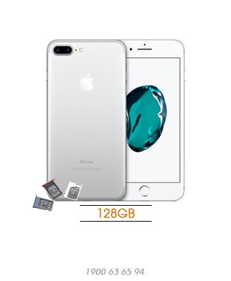 iPhone-7-plus-lock-128GB-Silver-asmart-da-nang