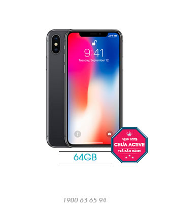 iPhone-X-64GB-TBH-black-new-100%-asmart-da-nang
