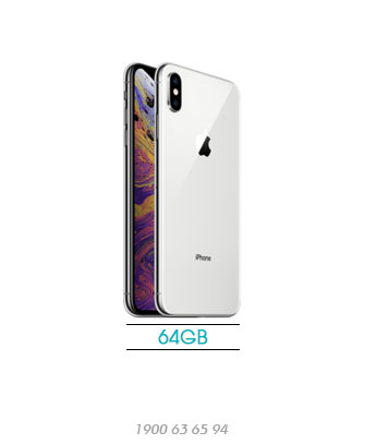 iPhone-XS-Max-64GB-silver-new-100%-asmart-da-nang