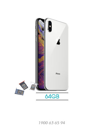 iPhone-XS-Max-Lock-64GB-silver-asmart-da-nang