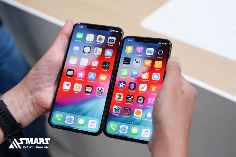 iphone-X-XS-XS Max-thay-doi-mau-sac-man-hinh