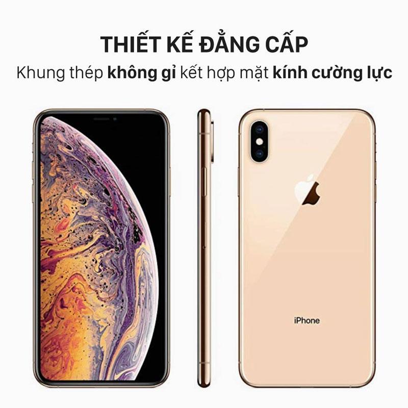 thiet-ke-khung-thep-khong-gi-ket-hop-mat-kinh-duong-luc-cua-iphone-xs-asmartstore