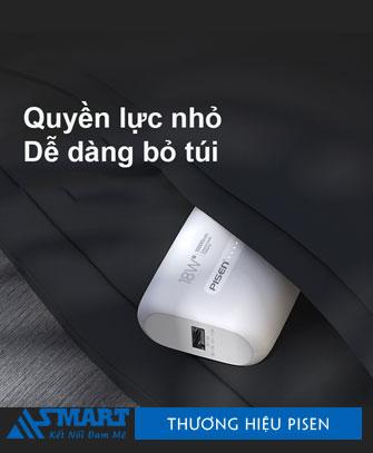 pissen-quick-miniqp18-10000mah-mau-trang-asmart