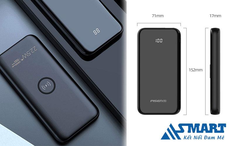 sac-du-phong-pisen-pro-wireless-10000mAh-asmart